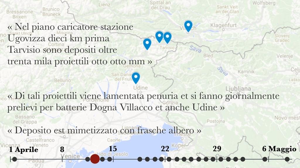 « Nel piano caricatore stazione Ugovizza dieci...