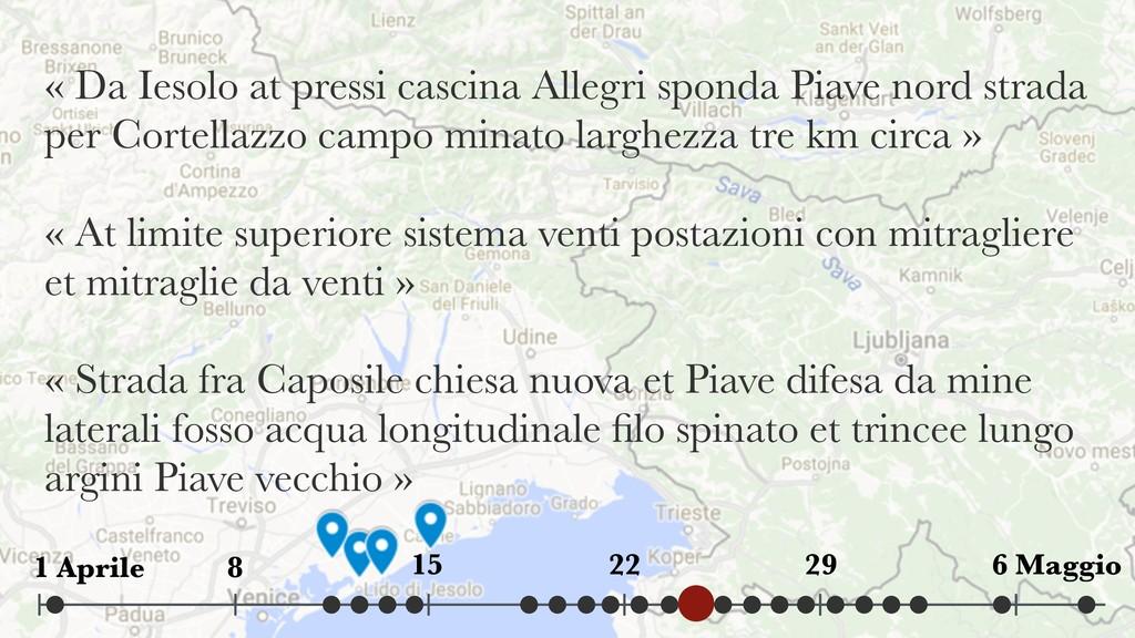 « Da Iesolo at pressi cascina Allegri sponda Pi...