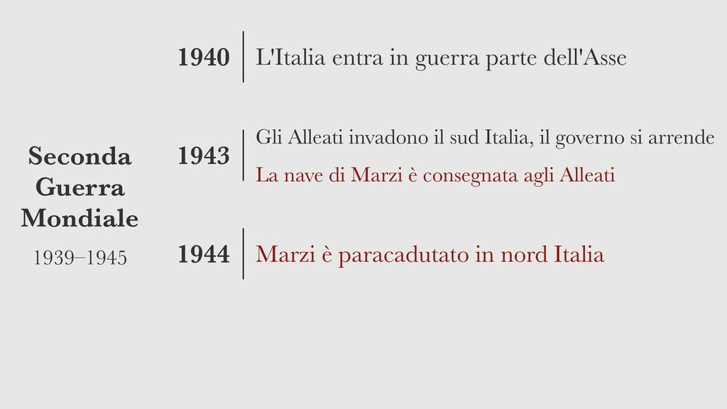 1940 1943 1944 Seconda Guerra Mondiale 1939–194...