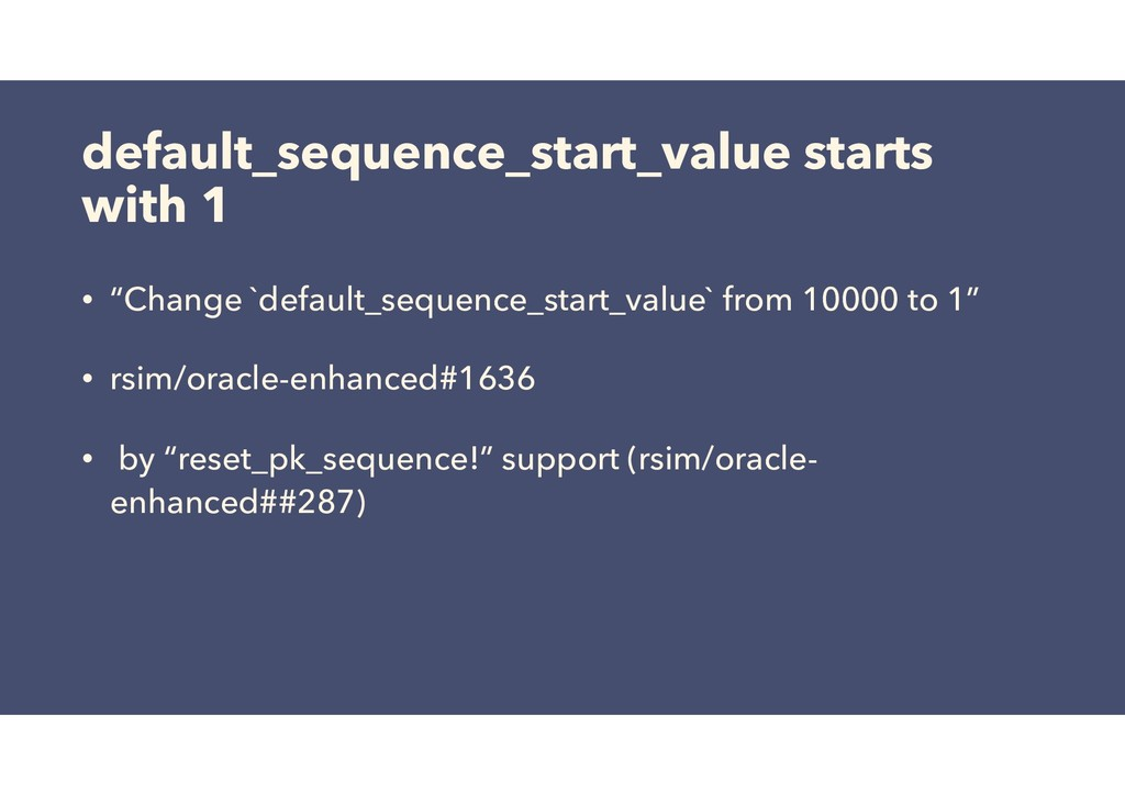 """default_sequence_start_value starts with 1 • """"C..."""