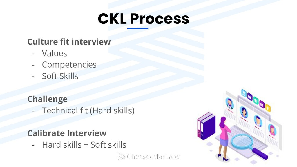 CKL Process Culture fit interview - Values - Com...