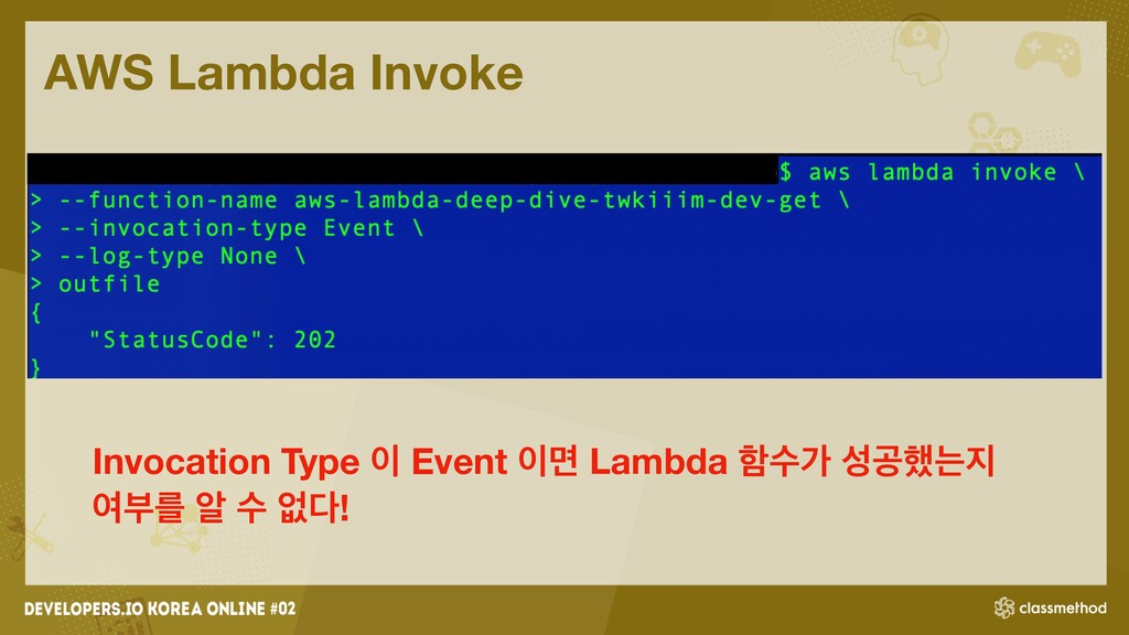 AWS Lambda Invoke Invocation Type ੉ Event ੉ݶ La...