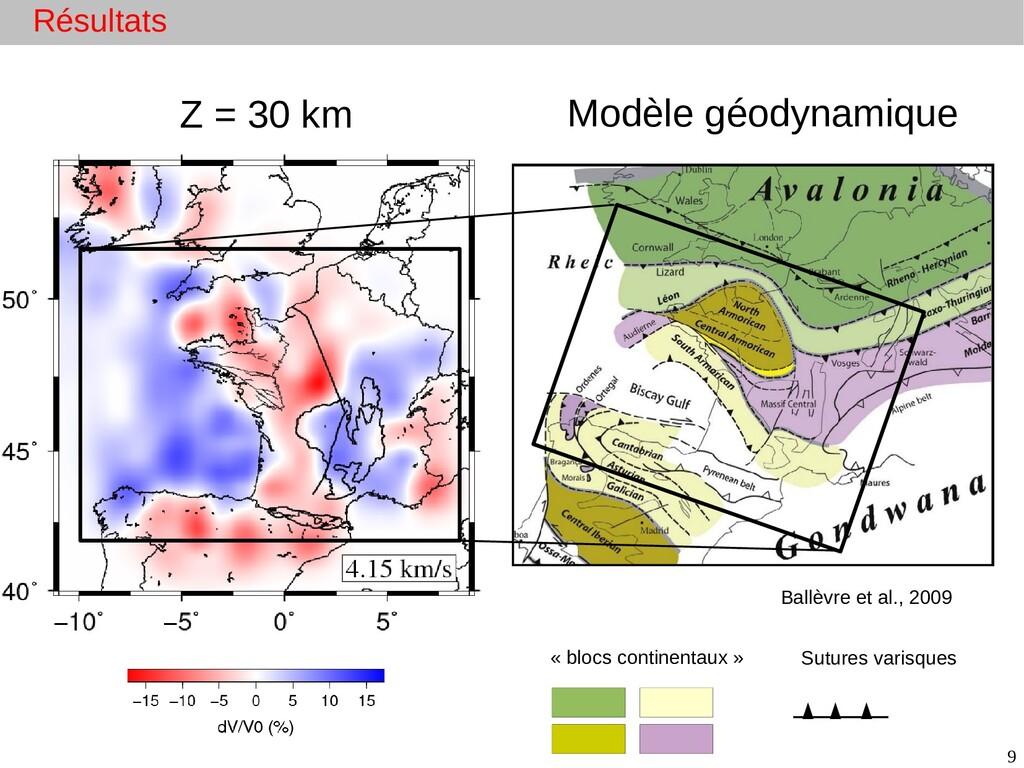 9 Modèle géodynamique Ballèvre et al., 2009 « b...