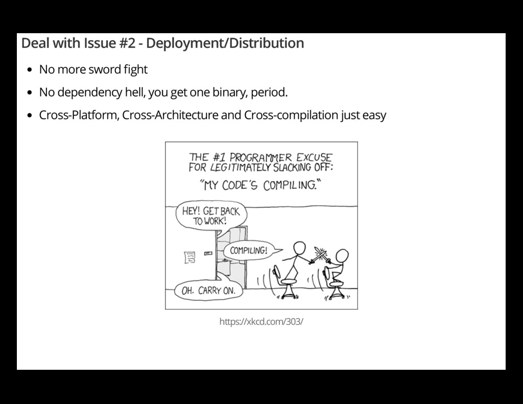 Deal with Issue #2 - Deployment/Distribution No...