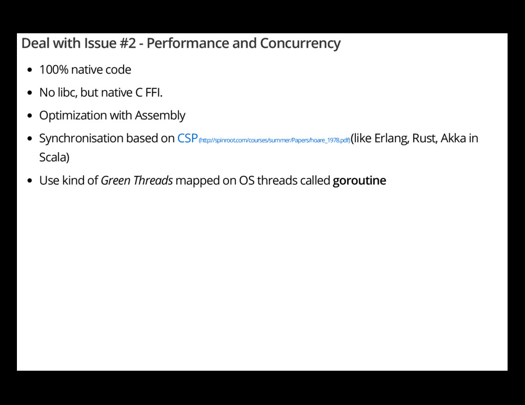 Deal with Issue #2 - Performance and Concurrenc...
