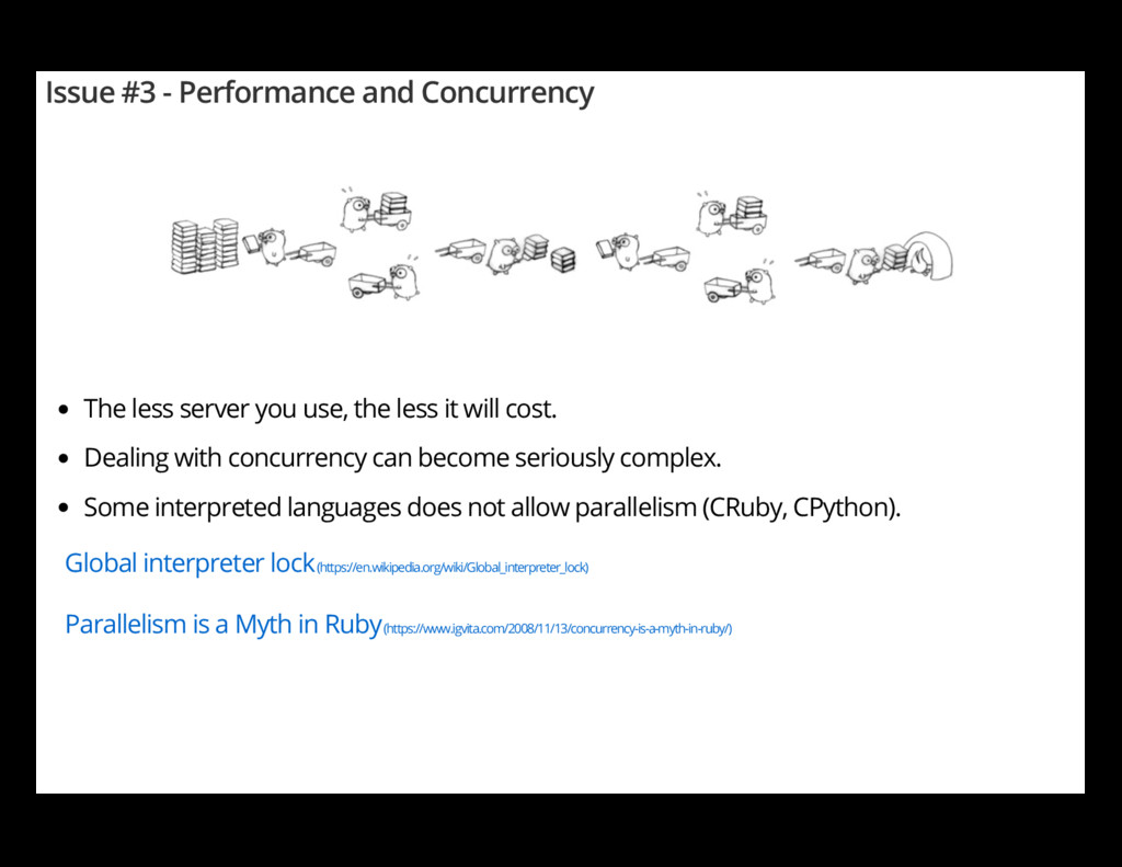 Issue #3 - Performance and Concurrency The less...