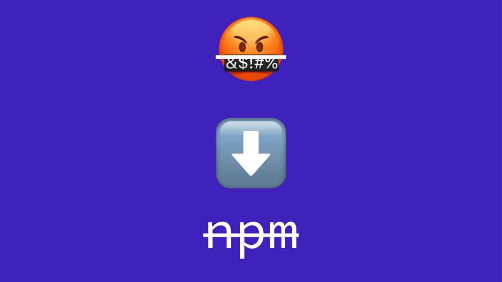 ! ⬇ npm