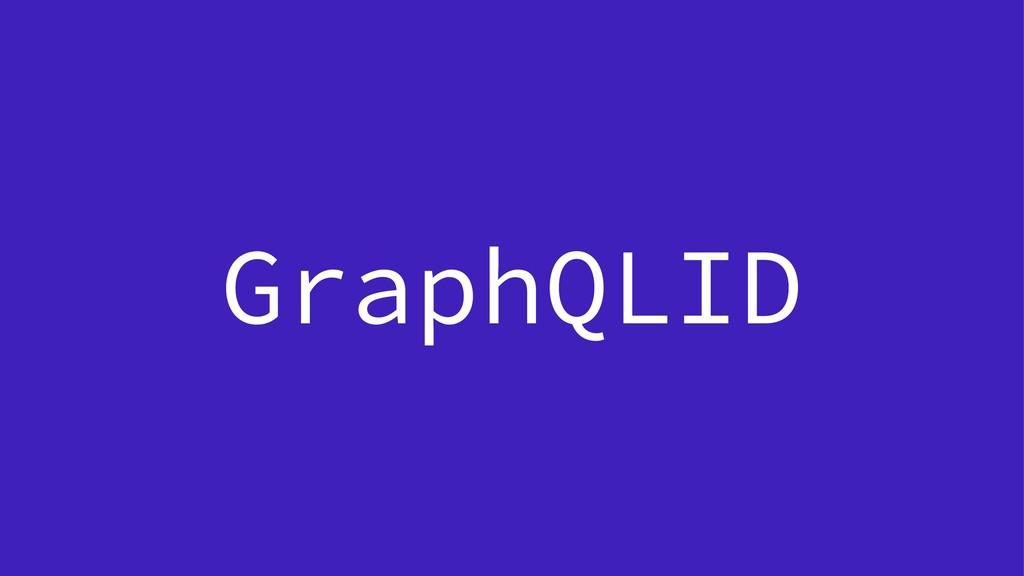 GraphQLID
