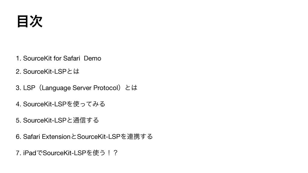  1. SourceKit for Safari Demo  2. SourceKit-L...