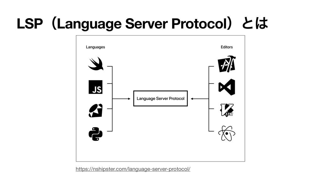 LSPʢLanguage Server Protocolʣͱ https://nshipst...
