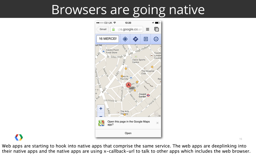 16 Browsers are going native Web apps are start...
