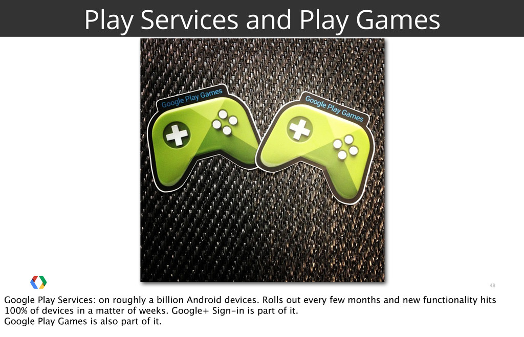 48 Play Services and Play Games Google Play Ser...