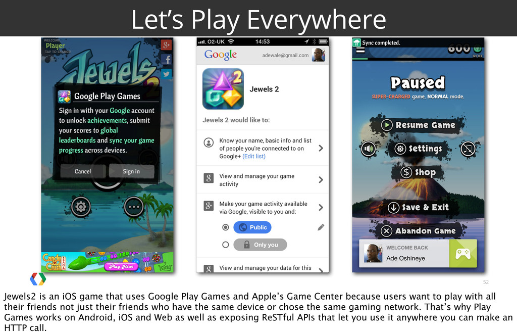 52 Let's Play Everywhere Jewels2 is an iOS game...