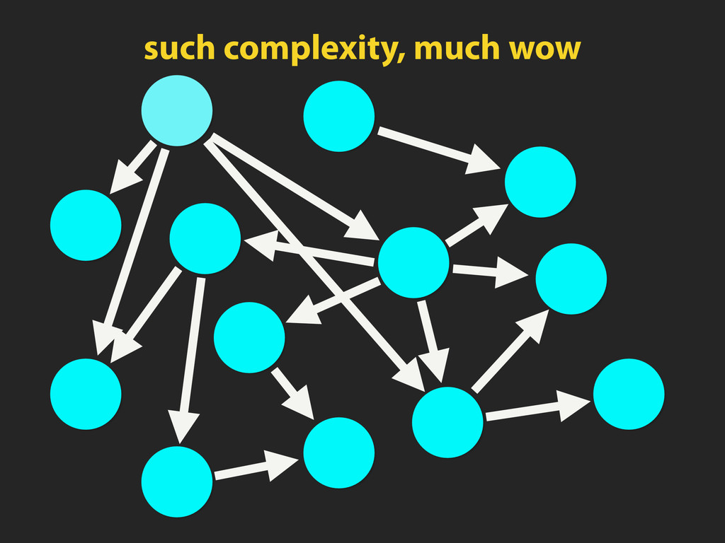such complexity, much wow