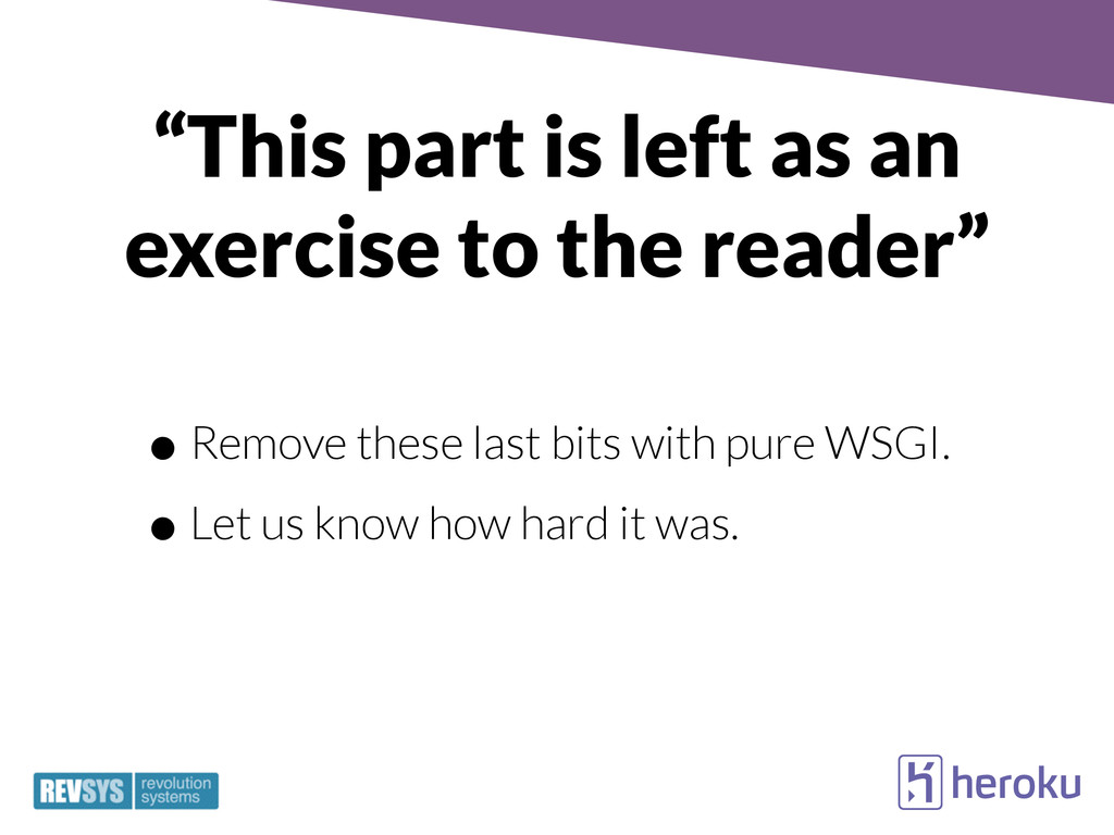 """This part is left as an exercise to the reader..."
