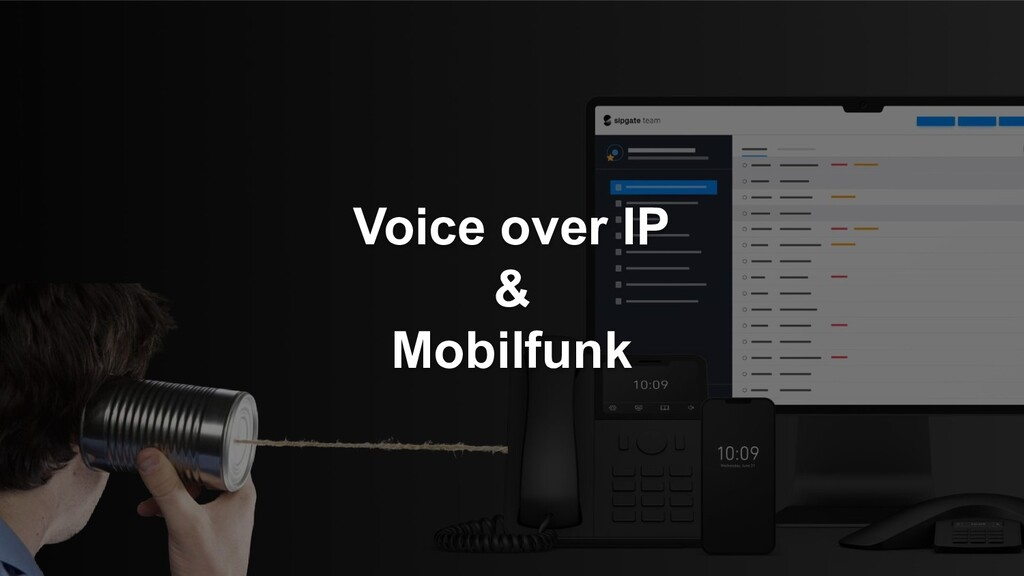 Voice over IP & Mobilfunk