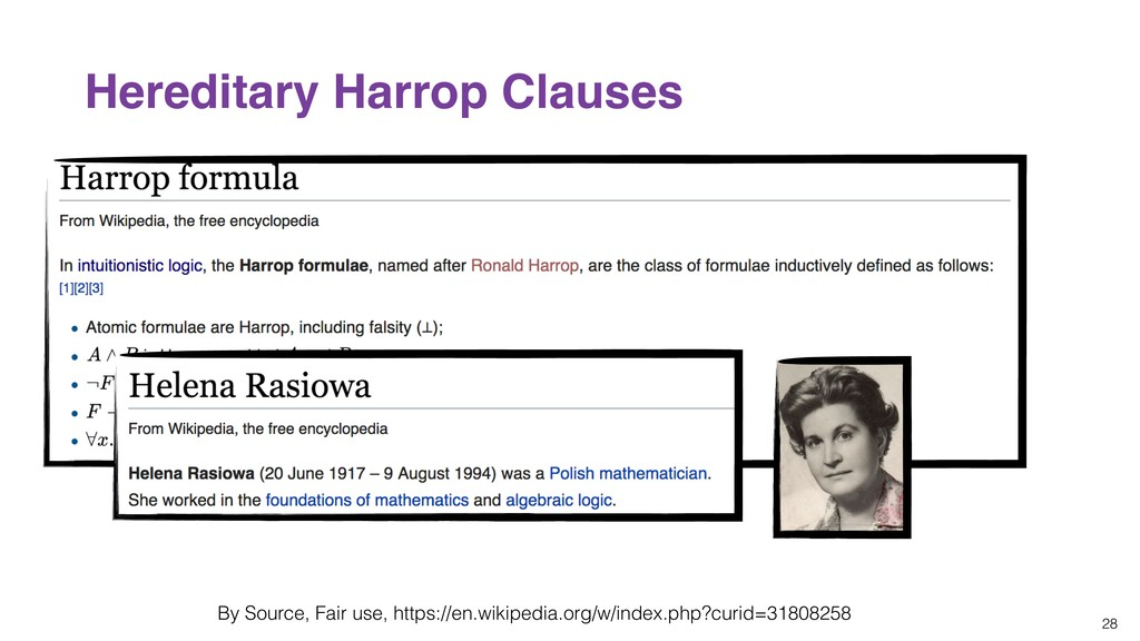 28 Hereditary Harrop Clauses By Source, Fair us...