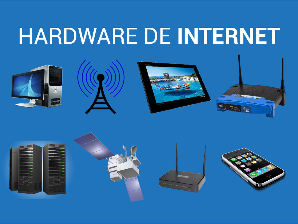 HARDWARE DE INTERNET
