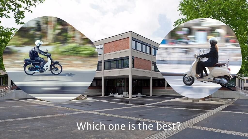 @ManfredSteyer Which one is the best?