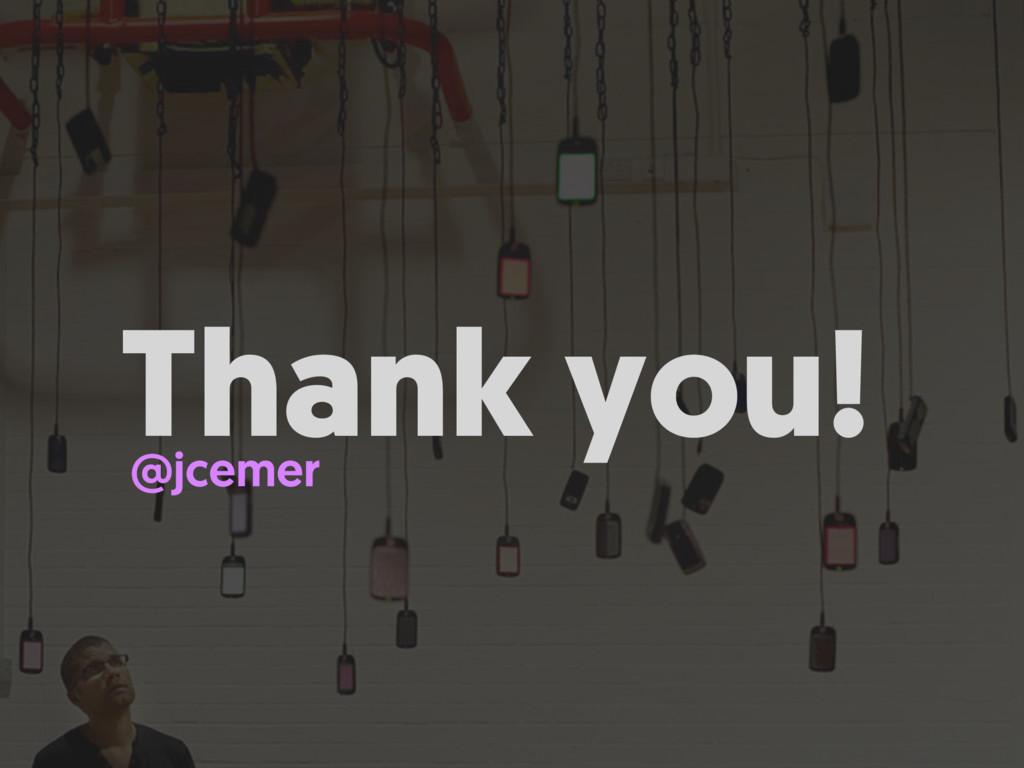 Thank you! @jcemer