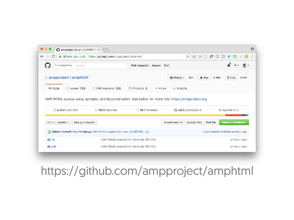 https://github.com/ampproject/amphtml