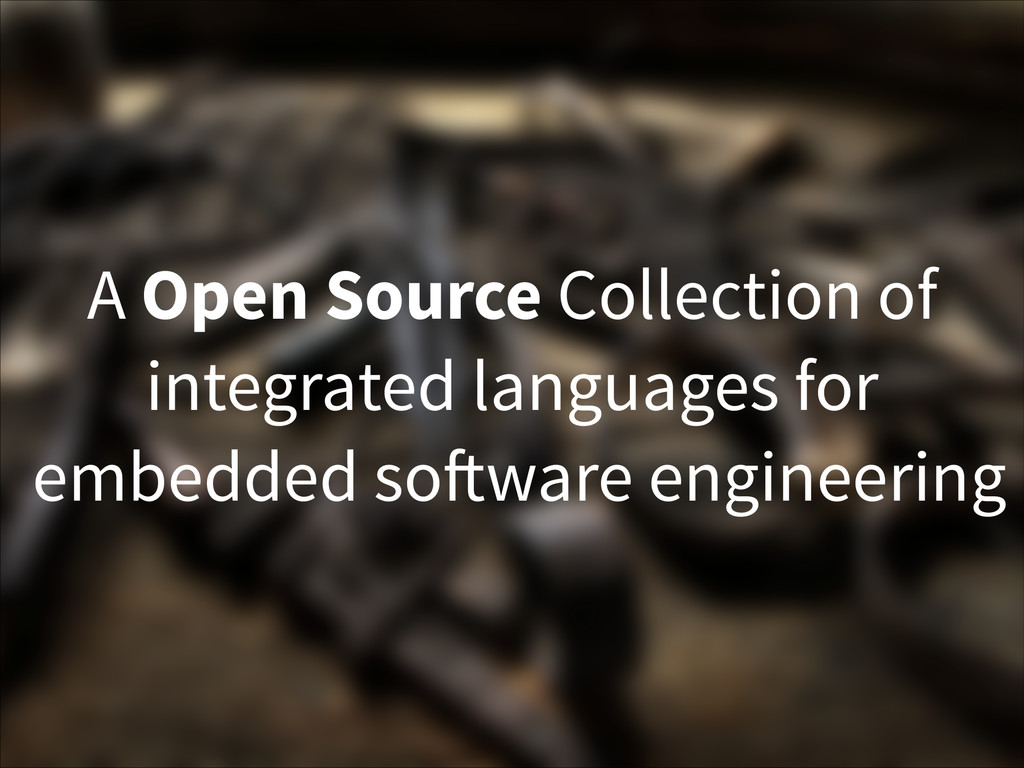 A Open Source Collection of integrated language...