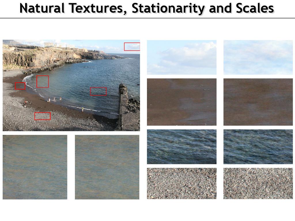 Natural Textures, Stationarity and Scales IEEE ...