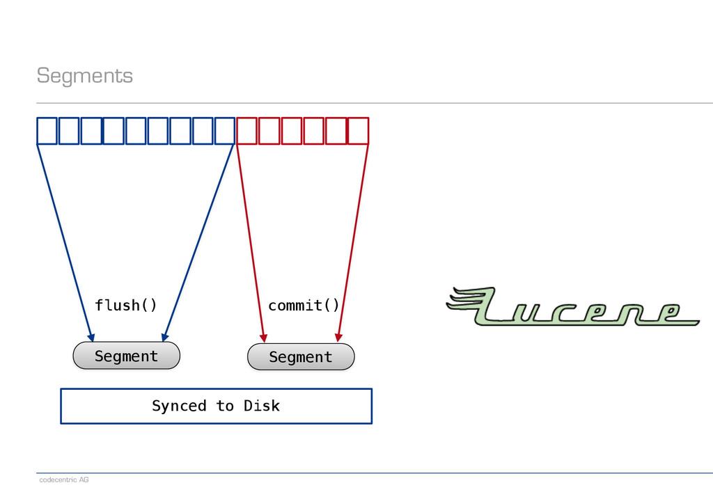 codecentric AG Segments Segment Segment flush()...