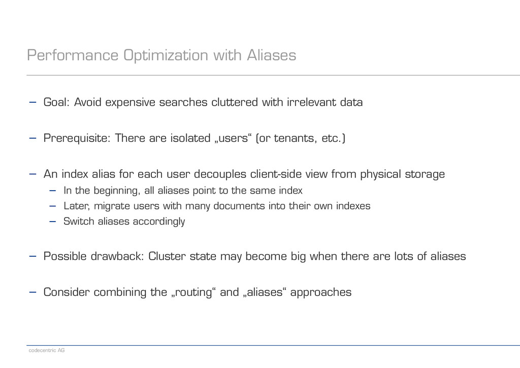 codecentric AG Performance Optimization with Al...