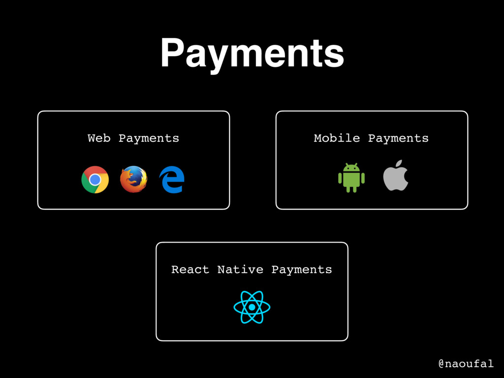 Payments Mobile Payments Web Payments React Nat...