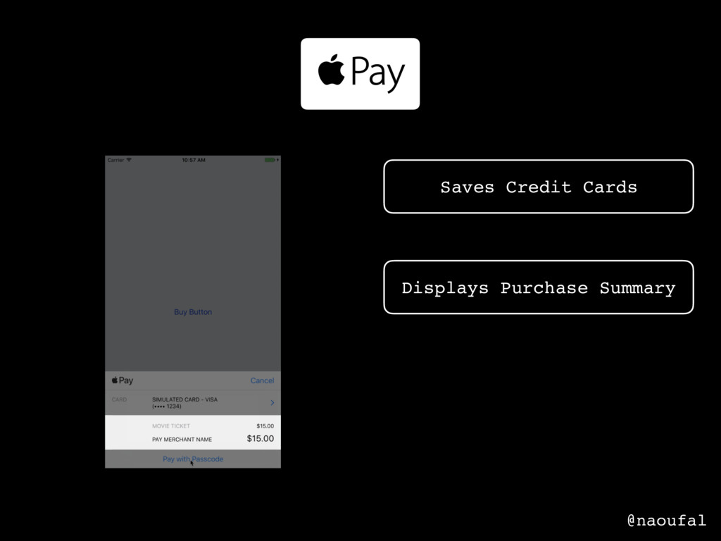 Saves Credit Cards Displays Purchase Summary Pa...