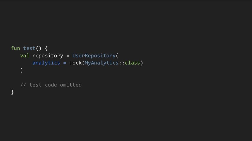 fun test() { val repository = UserRepository( a...