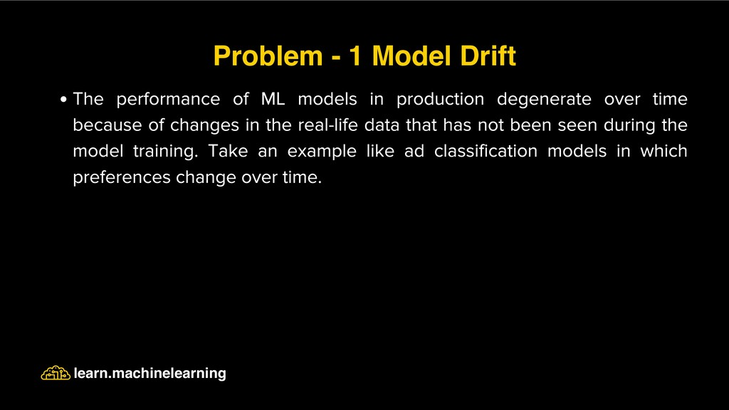 The performance of ML models in production dege...