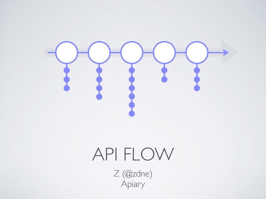 API FLOW Z (@zdne) Apiary