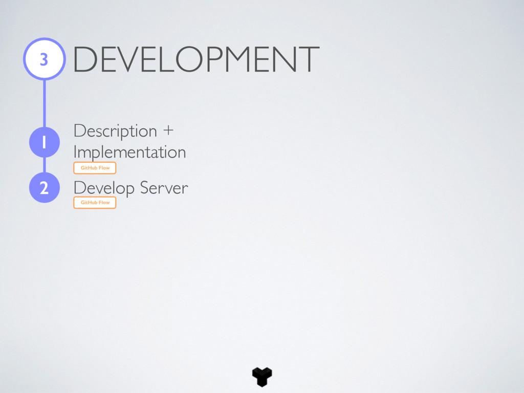 DEVELOPMENT 3 1 2 Develop Server GitHub Flow De...