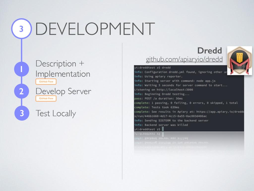 DEVELOPMENT 3 1 Description + Implementation 2 ...