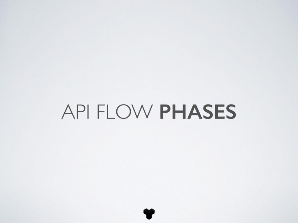 API FLOW PHASES