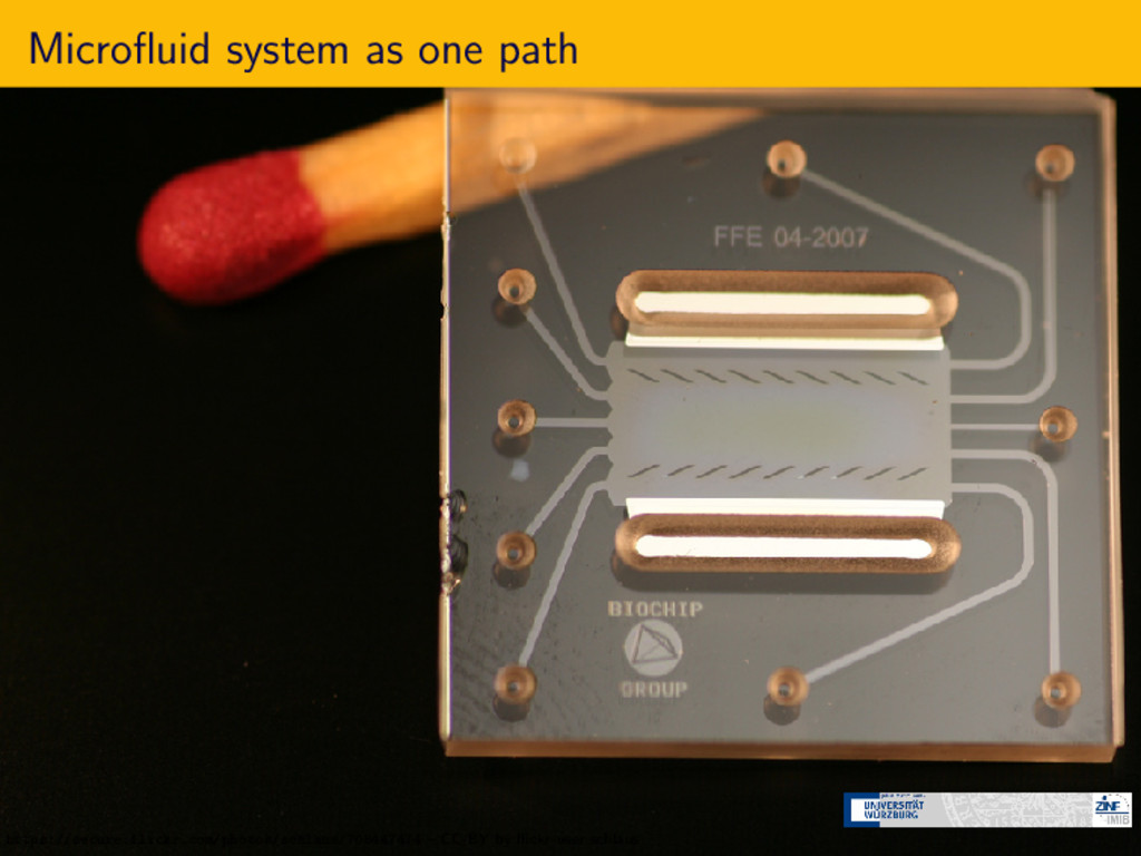 Microfluid system as one path https://secure.fli...