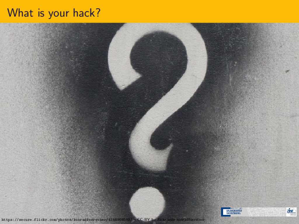 What is your hack? https://secure.flickr.com/ph...