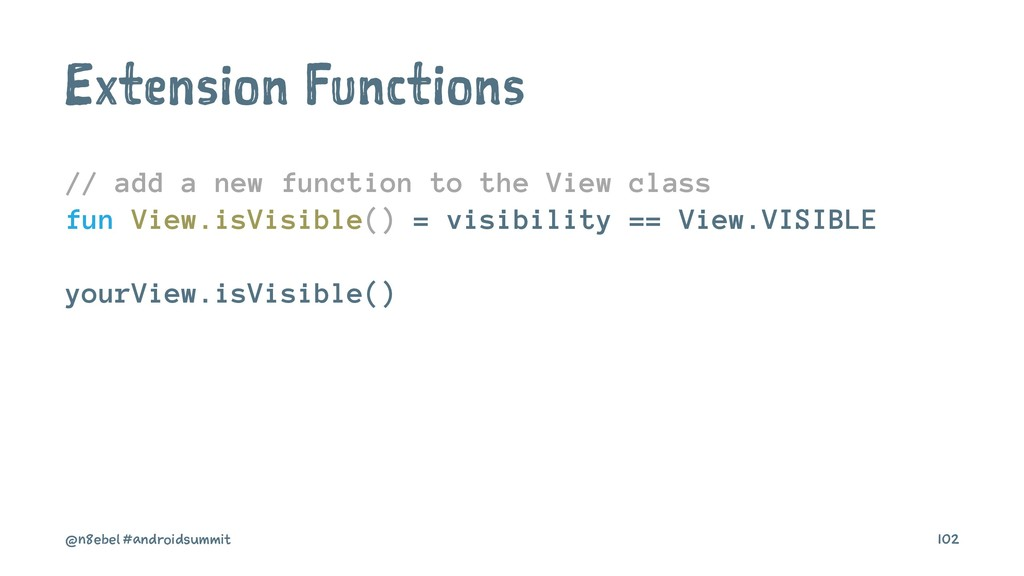 Extension Functions // add a new function to th...