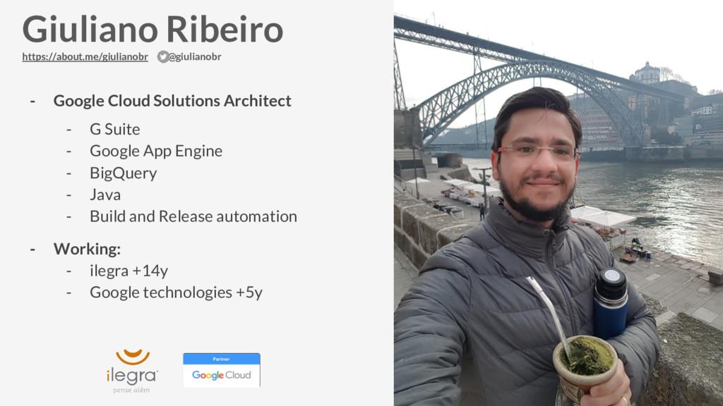 - Google Cloud Solutions Architect - G Suite - ...