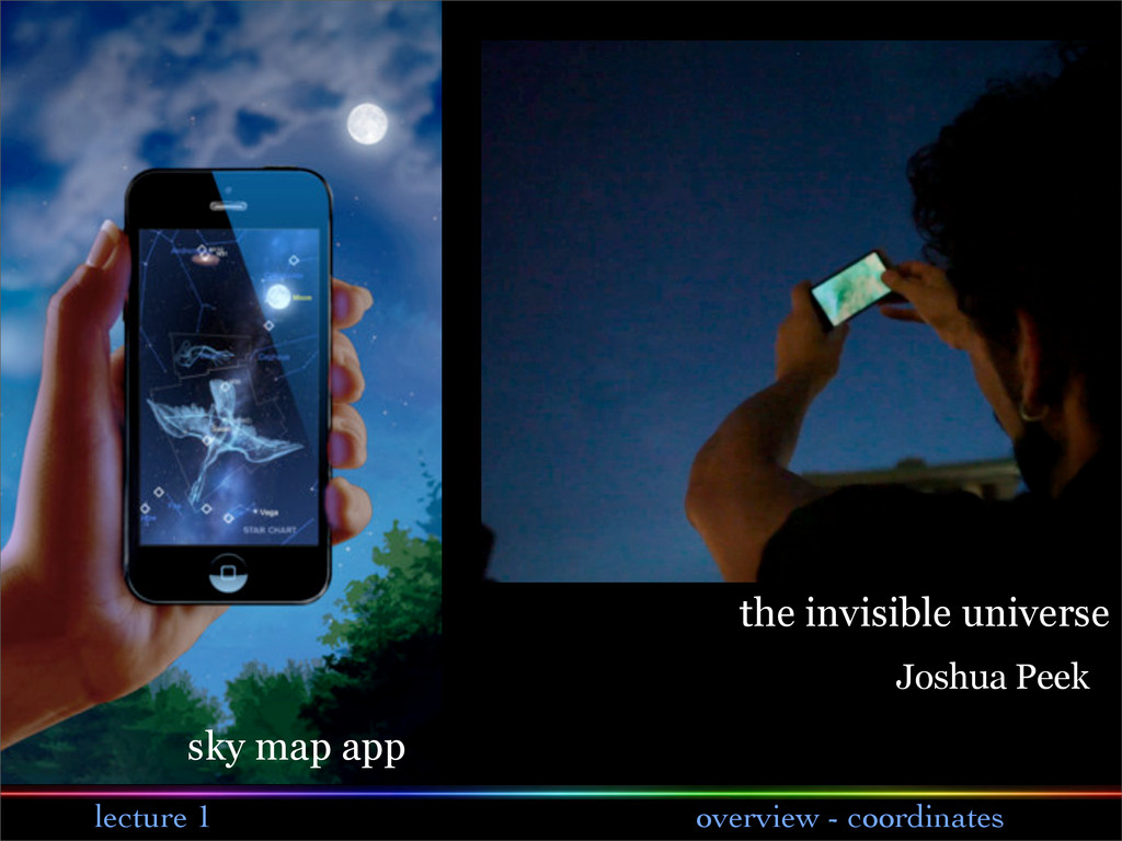 lecture 1 overview - coordinates sky map app th...