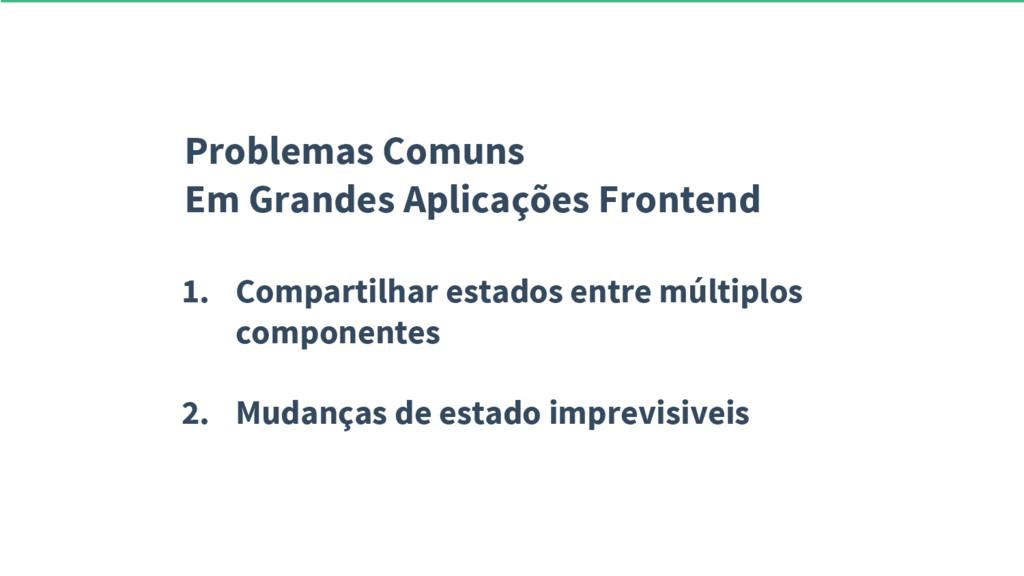 Problemas Comuns Em Grandes Aplicações Frontend...