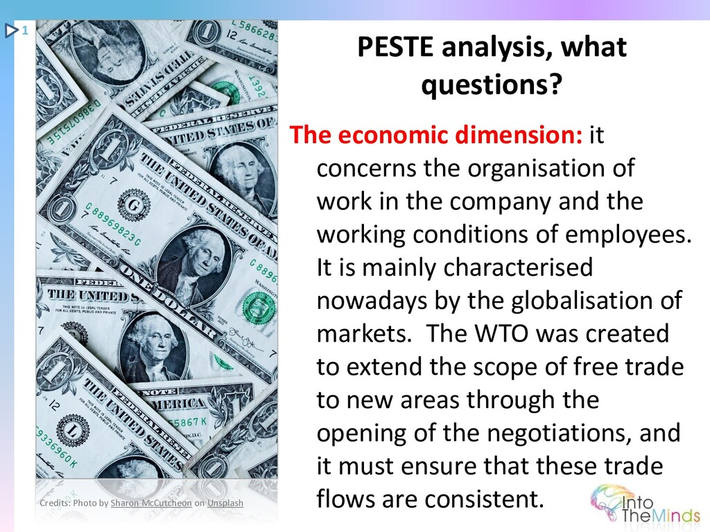 The economic dimension: it concerns the organis...