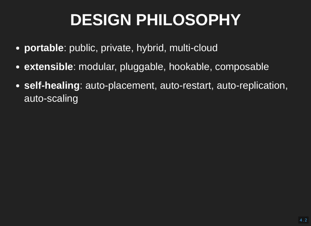 DESIGN PHILOSOPHY portable: public, private, hy...