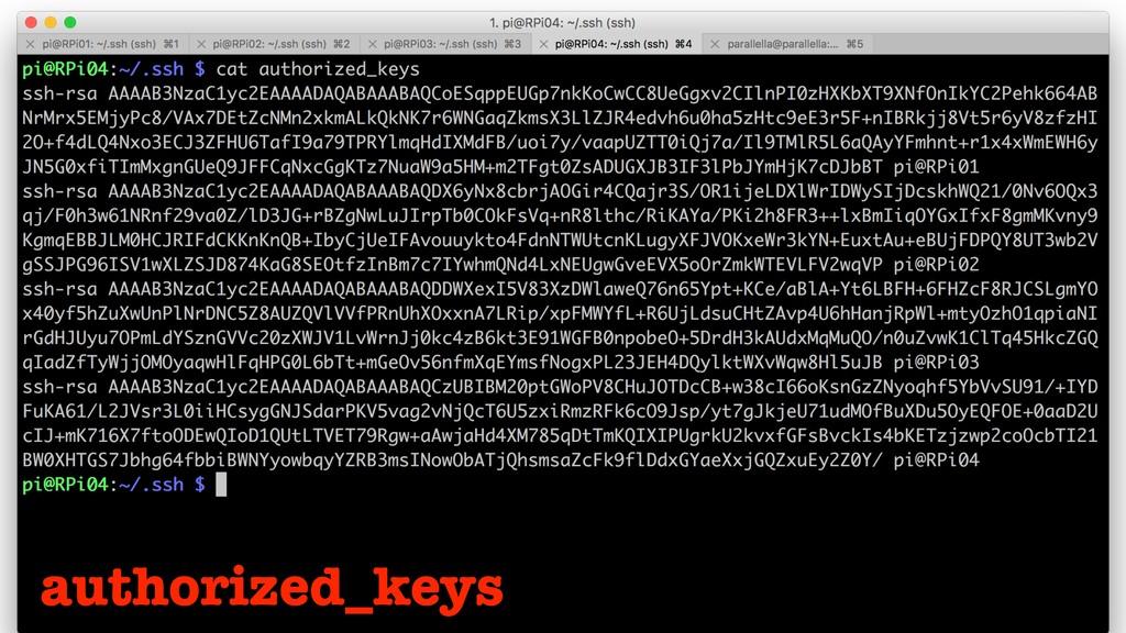 authorized_keys