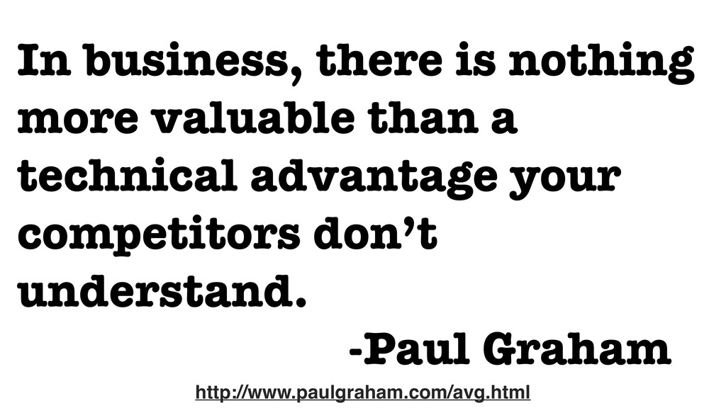 In business, there is nothing more valuable tha...