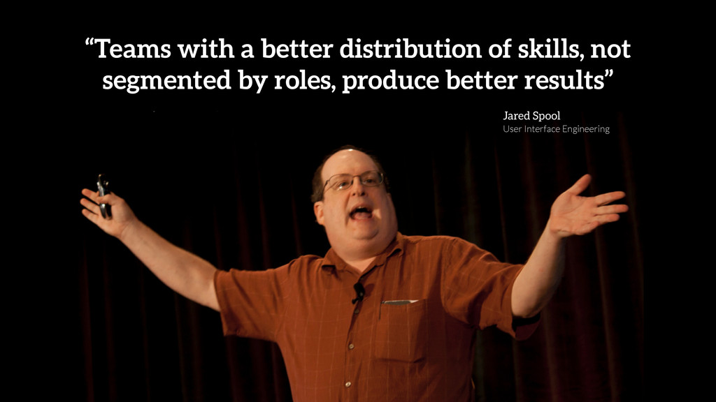 """Teams with a better distribution of skills, no..."