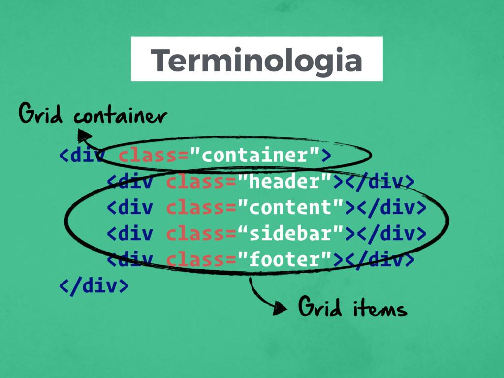 """Terminologia <div class=""""container""""> <div class..."""