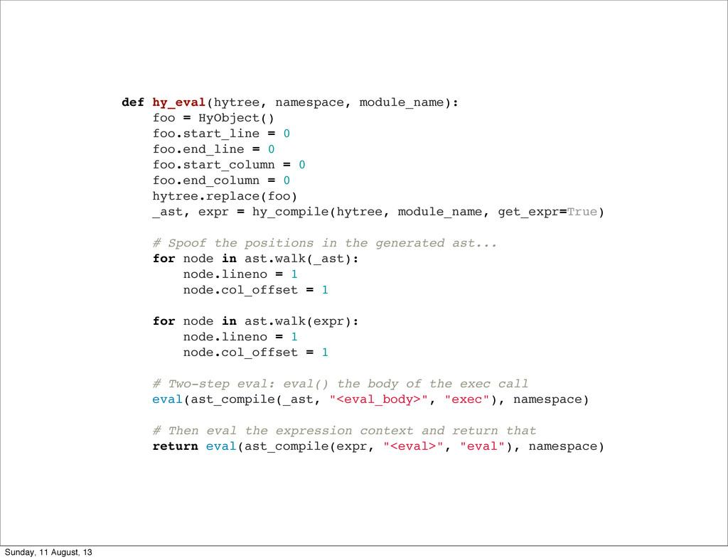 def hy_eval(hytree, namespace, module_name): fo...
